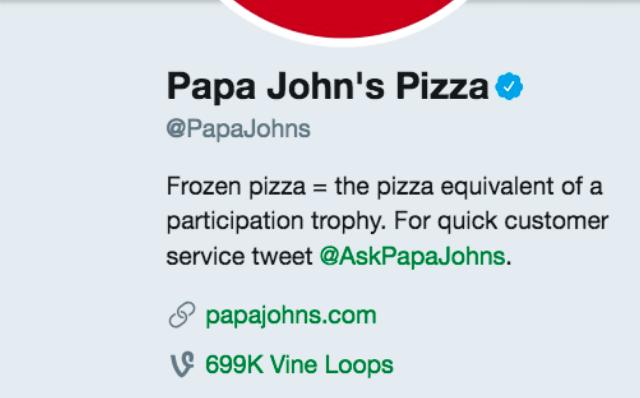 Papa John's Responds to DiGiorno
