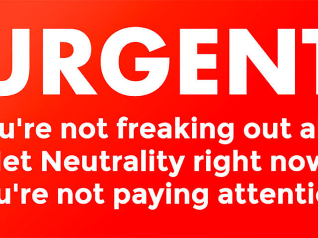 Net Neutrality Is At Risk
