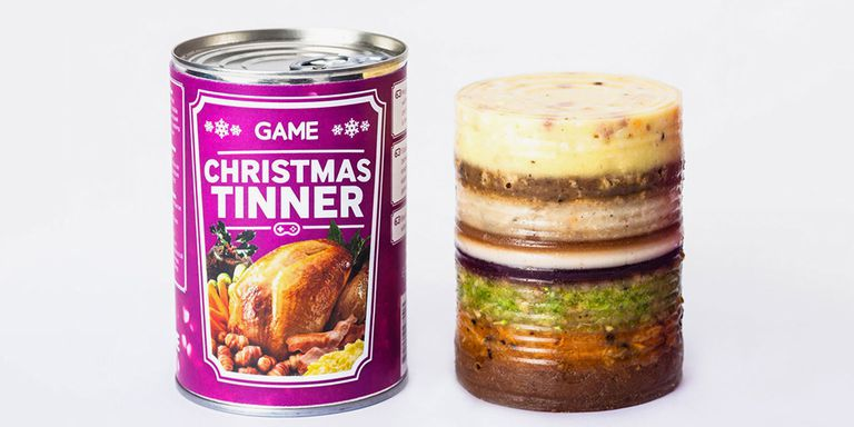 Full-Course Christmas Dinner In A Can