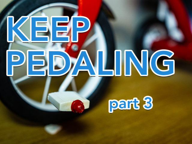 Keep Pedaling (part 3) | Ross Herosian's Productivity System Explained | Tricycle Creative