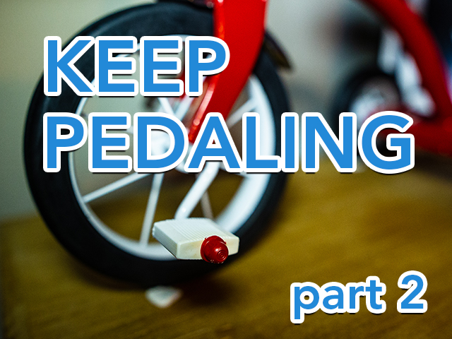 Keep Pedaling (part 2) | Ross Herosian's Productivity System Explained | Tricycle Creative
