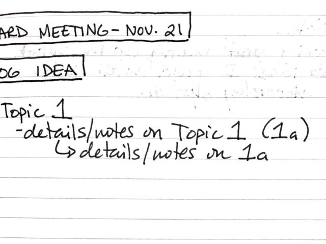 Note-taking System