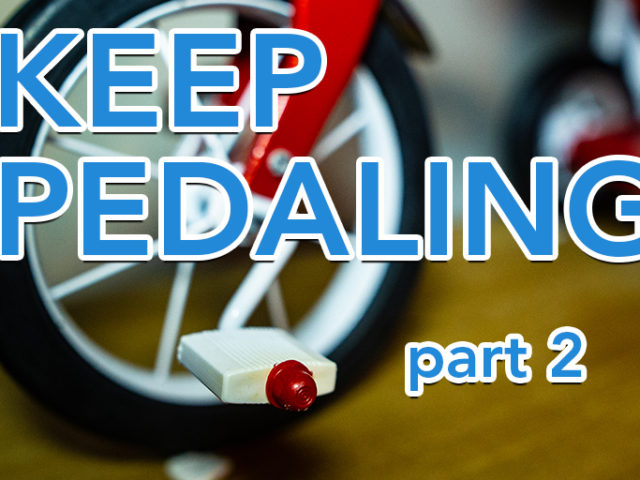 Keep Pedaling (part 2)   Ross Herosian's Productivity System Explained   Tricycle Creative