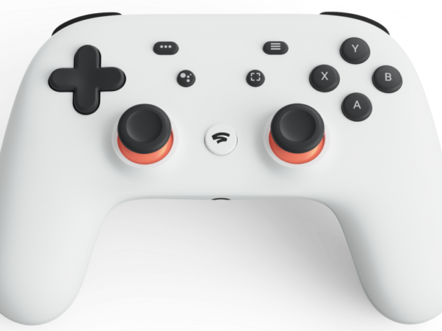 Google's Stadia Video Game Controller