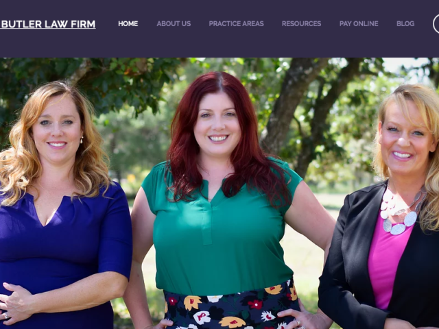 Dorothy Butler Law Firm Website | Created by Tricycle Creative