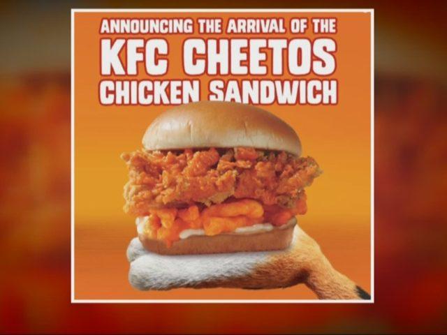KFC + Cheetos Hook Up