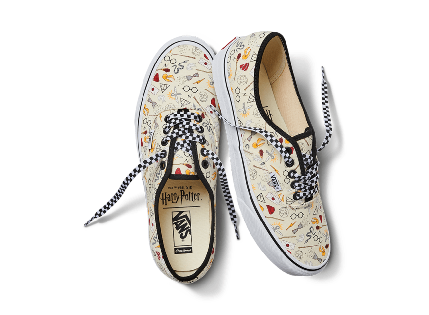 Harry Potter Custom Designs by Vans