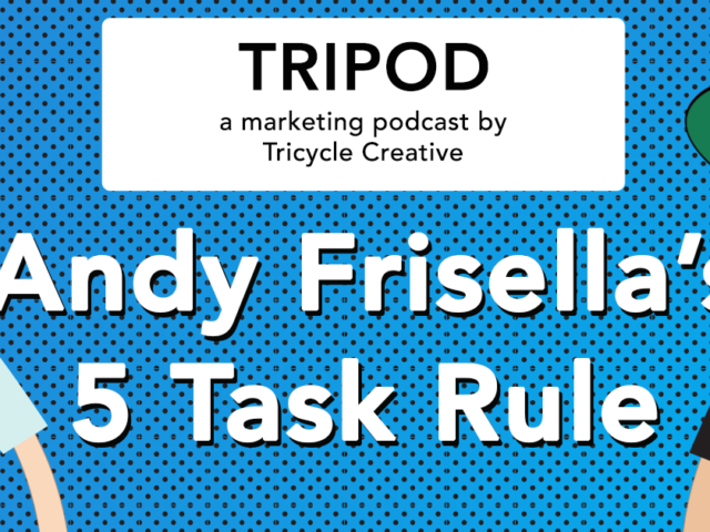 "Andy Frisella's ""5 Task Rule"""