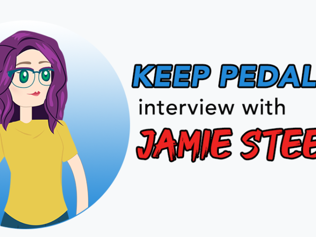 Keep Pedaling Interview with Jamie Steele of Tidy Your Time