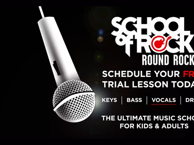 School of Rock Animated Instruments | Tricycle Creative Campaigns
