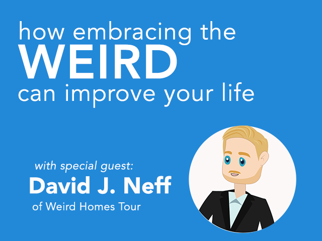 Meet David J. Neff of Weird Homes Tour | TriPod
