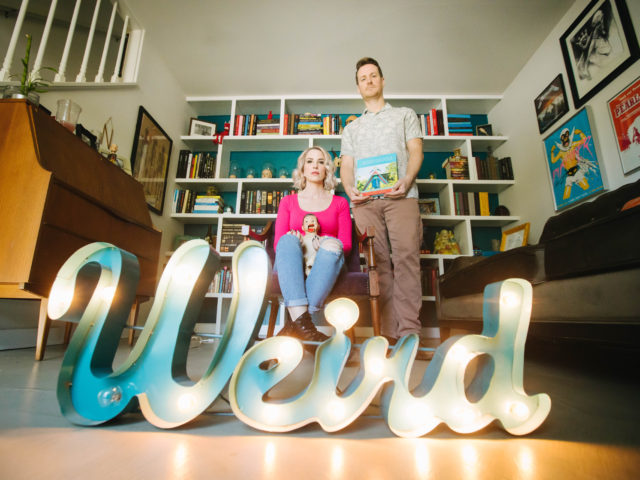 Weird Homes Tour Co-Founders David + Chelle Neff