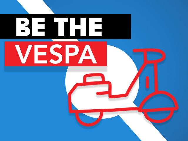 Be The Vespa