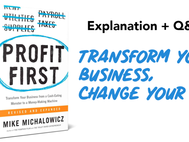 Profit First Livestream + Q&A | Tricycle Creative + North Bay Bookkeeping